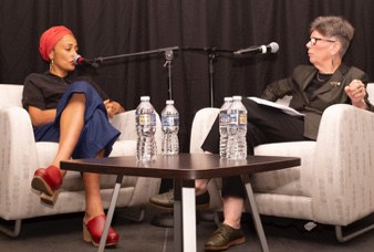 Zadie Smith at Arlington Library