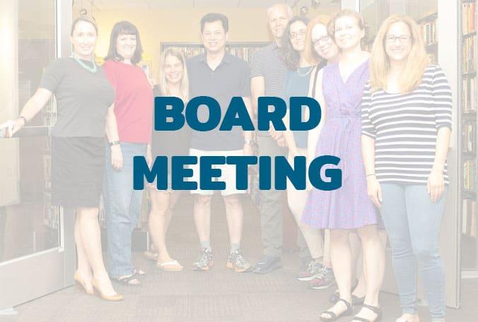 FOAL Board Meeting